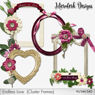 Endless Love Clustered Frames