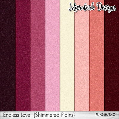 Endless Love Papers Shimmers