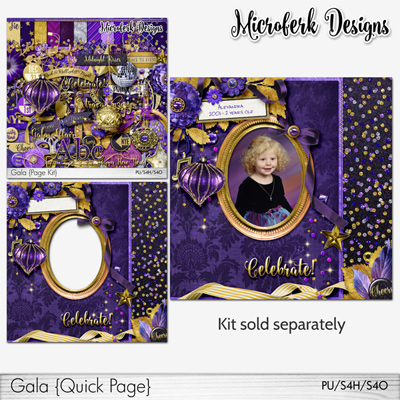 Gala ADD Ons and Bundles by Microferk Designs @Oscraps!