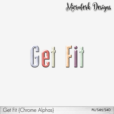 GetFit Chrome Alphas