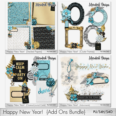 Happy New Year Add Ons Bundle