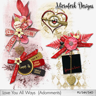 Love You All Ways Adornments