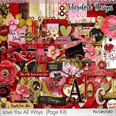 Love You AllWays Page Kit