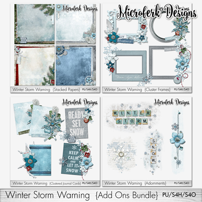 Winter Storm Warning Add Ons Bundle
