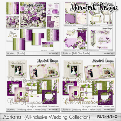 Adriana All Inclusive Wedding Collection