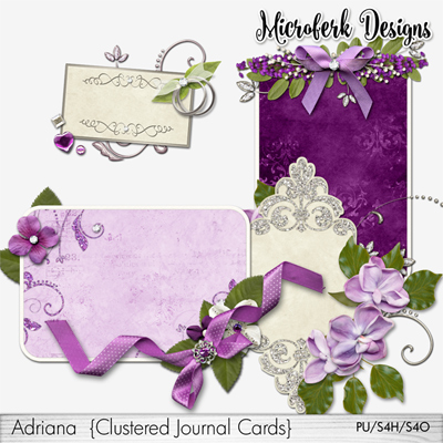 Adriana Clustered Journal Cards