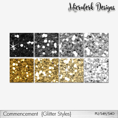 Commencement Glitters