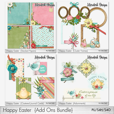 Happy Easter Add Ons Bundle