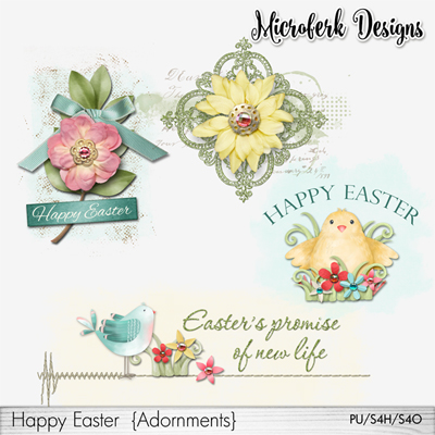 Happy Easter Adornments