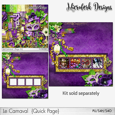 Le Carnaval Add Ons & Bundles by Microferk Designs @Oscraps- on SALE + FWP!