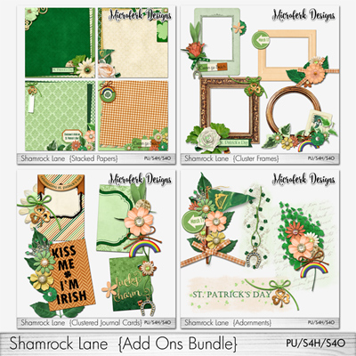 Shamrock Lane Add Ons Bundle