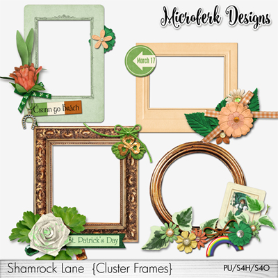 Shamrock Lane Clustered Frames