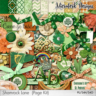 Shamrock Lane Page Kit