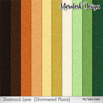 Shamrock Lane Papers Shimmers