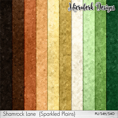 Shamrock Lane Papers Sparkles