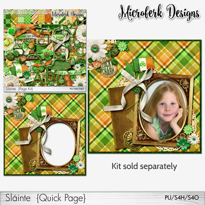 "Irish ""Slainte"" bundles and add ons by Microferk Deisgns @Oscraps - on SALE +FWP!"