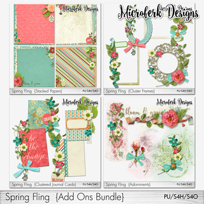 Spring Fling Add Ons Bundle