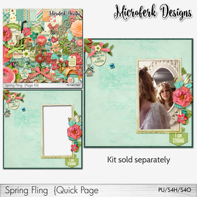Spring Fling Quick Page